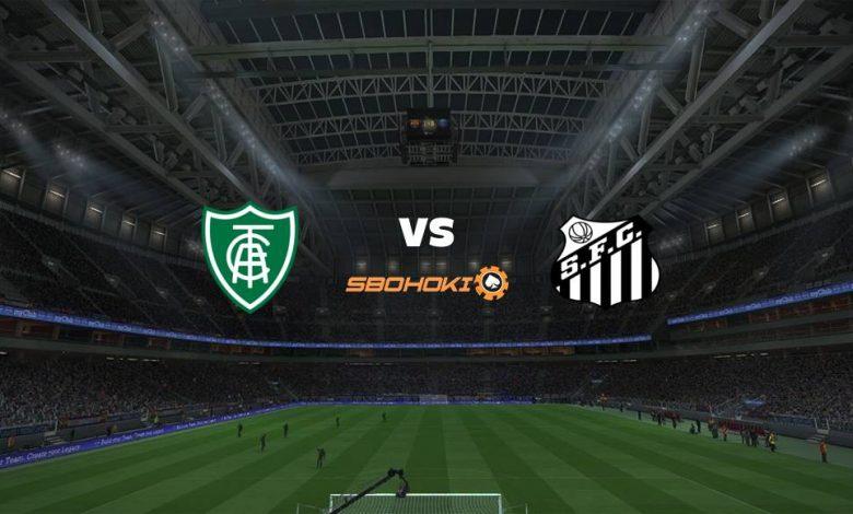 Live Streaming  América-MG vs Santos 4 Juli 2021 1