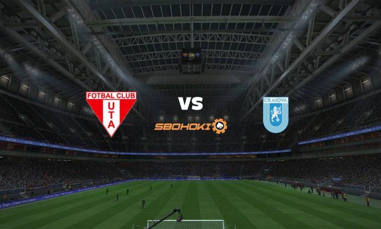 Live Streaming UTA Arad vs Universitatea Craiova 14 Agustus 2021 1