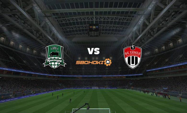 Live Streaming Krasnodar vs FC Khimki 1 Agustus 2021 1