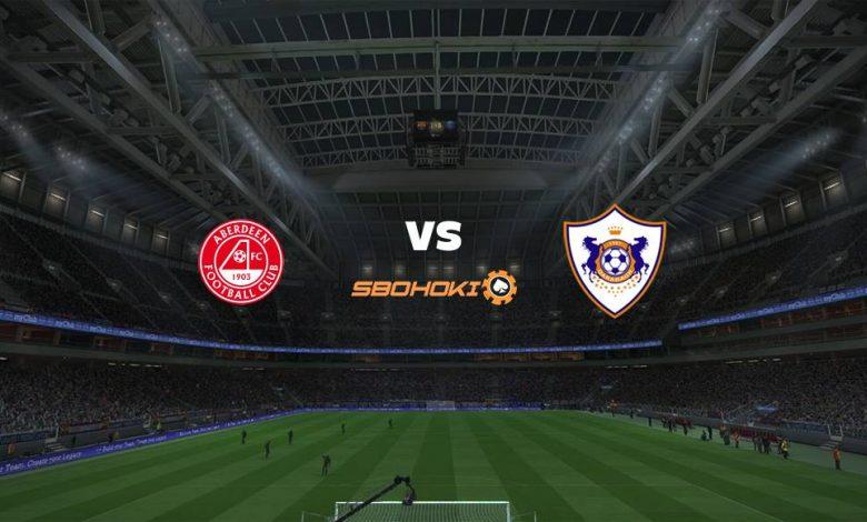 Live Streaming Aberdeen vs FK Qarabag 26 Agustus 2021 1