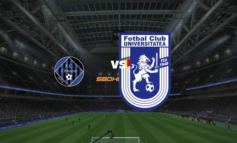 Live Streaming Academica Clinceni vs U Craiova 1948 7 Agustus 2021 1