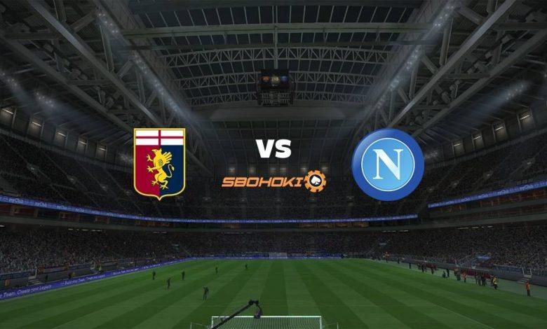 Live Streaming Genoa vs Napoli 29 Agustus 2021 1