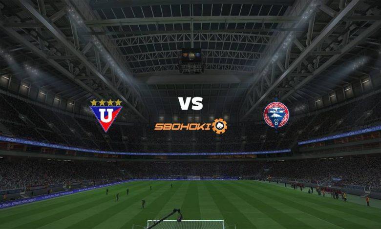 Live Streaming Liga de Quito vs Olmedo 3 Agustus 2021 1