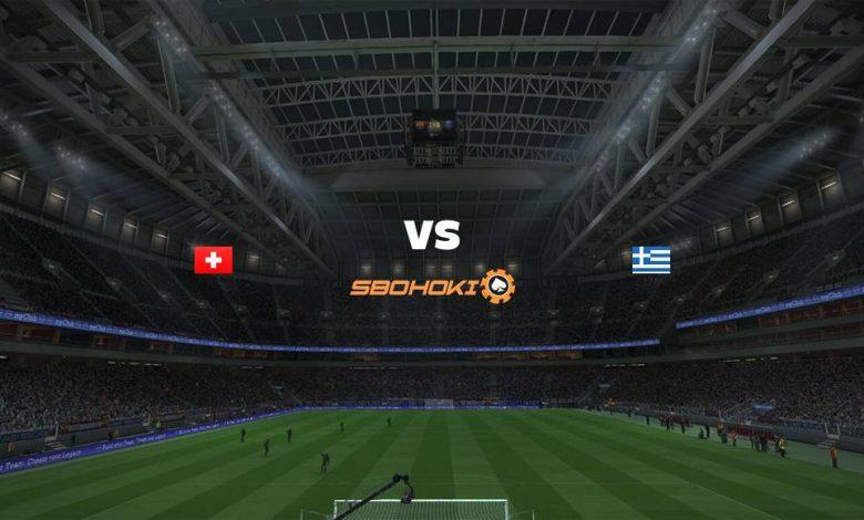 Live Streaming Switzerland vs Greece 1 September 2021 1