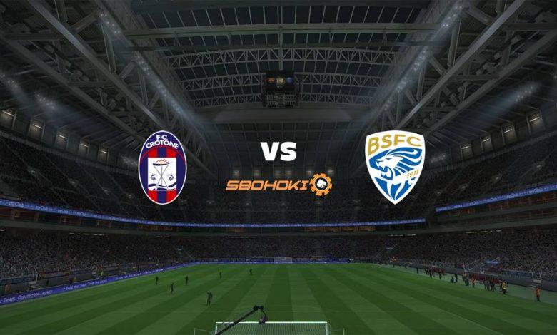 Live Streaming Crotone vs Brescia 16 Agustus 2021 1