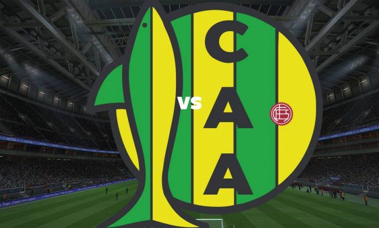 Live Streaming Aldosivi vs Lans 29 Agustus 2021 1