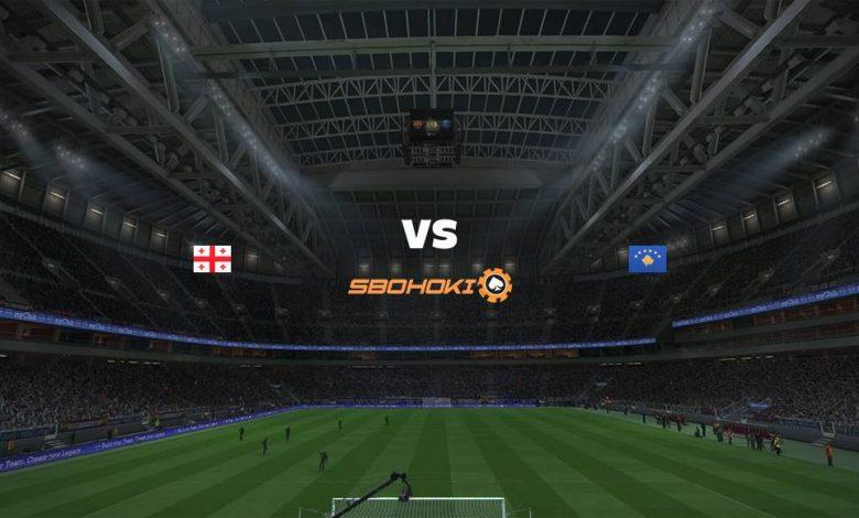 Live Streaming Georgia vs Kosovo 2 September 2021 1