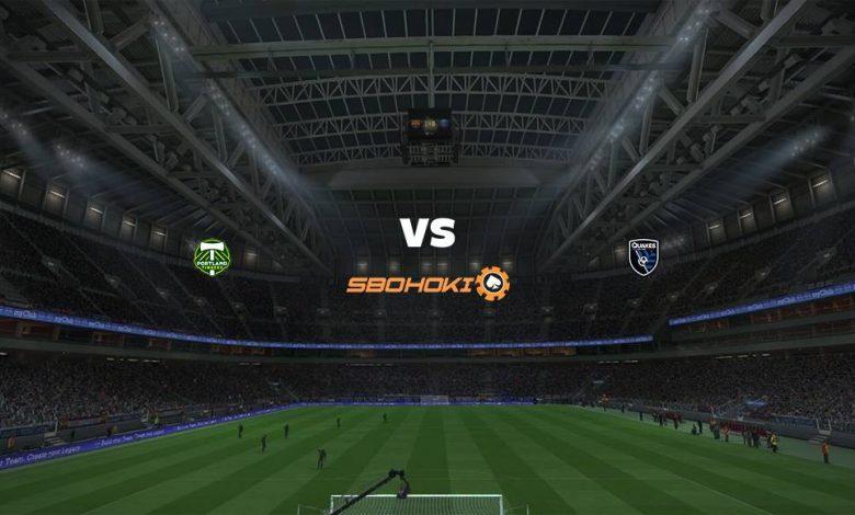 Live Streaming Portland Timbers vs San Jose Earthquakes 5 Agustus 2021 1