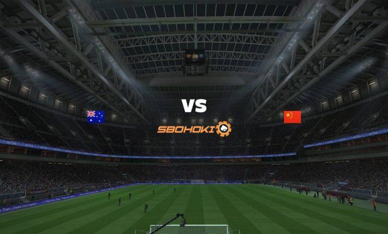 Live Streaming Australia vs China 1 September 2021 1