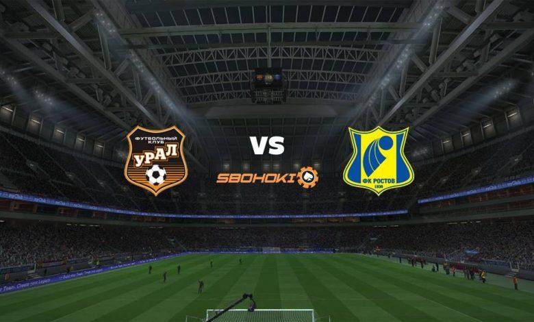 Live Streaming FC Ural Ekaterinburg vs Rostov 27 Agustus 2021 1