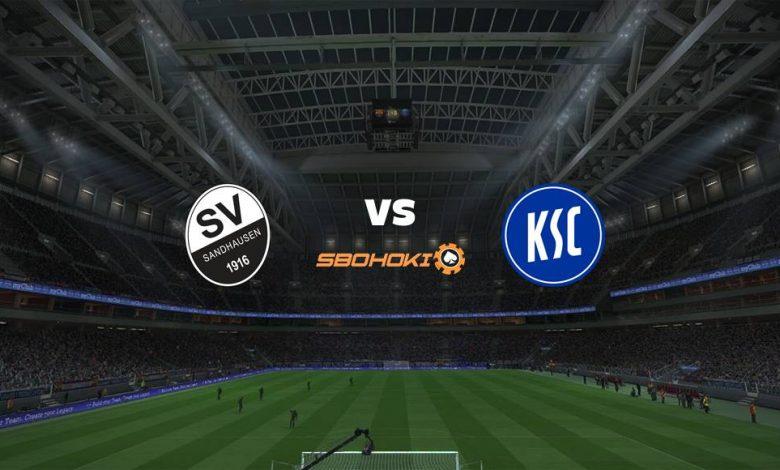 Live Streaming SV Sandhausen vs Karlsruher SC 14 Agustus 2021 1