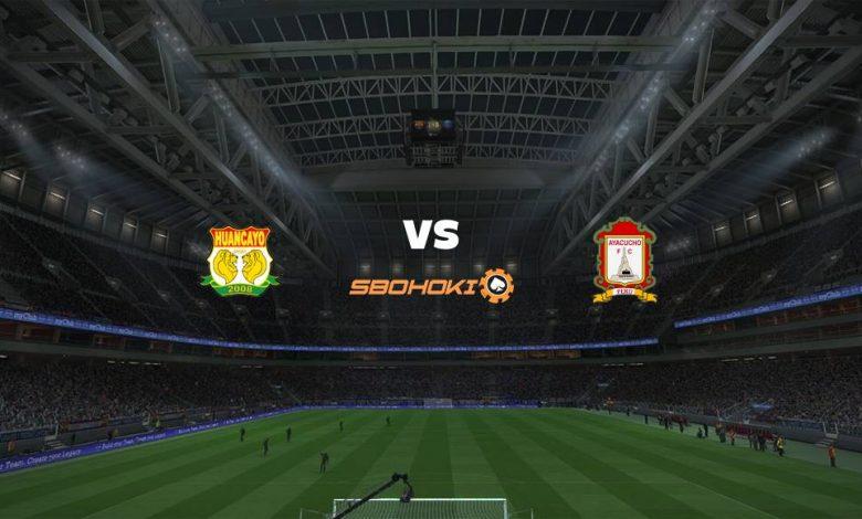 Live Streaming Sport Huancayo vs Ayacucho FC 18 Agustus 2021 1
