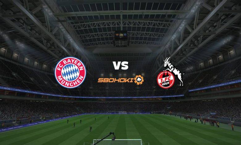 Live Streaming Bayern Munich vs FC Cologne 22 Agustus 2021 1
