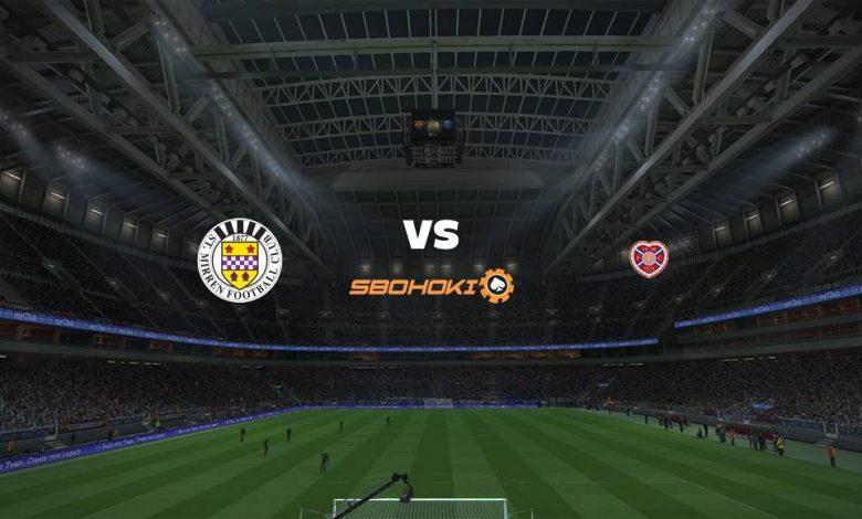 Live Streaming St Mirren vs Heart of Midlothian 7 Agustus 2021 1