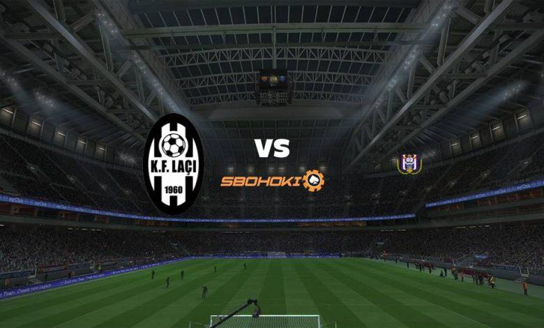 Live Streaming KF Laci vs Anderlecht 5 Agustus 2021 1