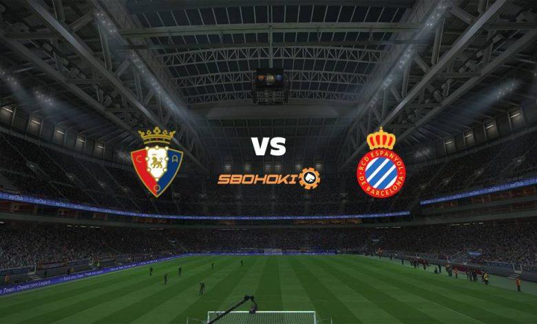 Live Streaming Osasuna vs Espanyol 14 Agustus 2021 1