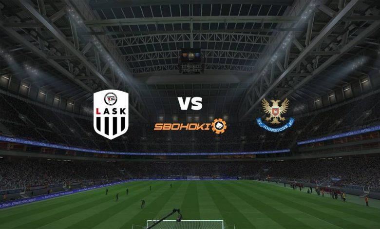 Live Streaming LASK Linz vs St Johnstone 19 Agustus 2021 1