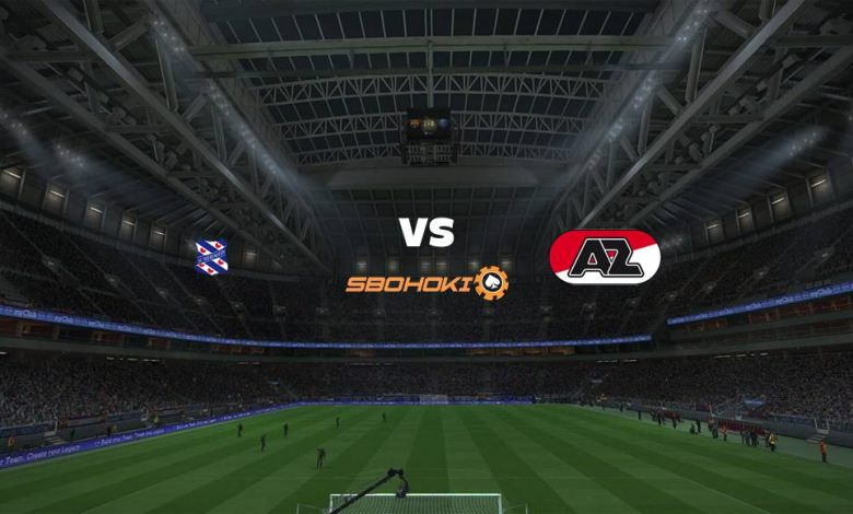 Live Streaming Heerenveen vs AZ Alkmaar 29 Agustus 2021 1