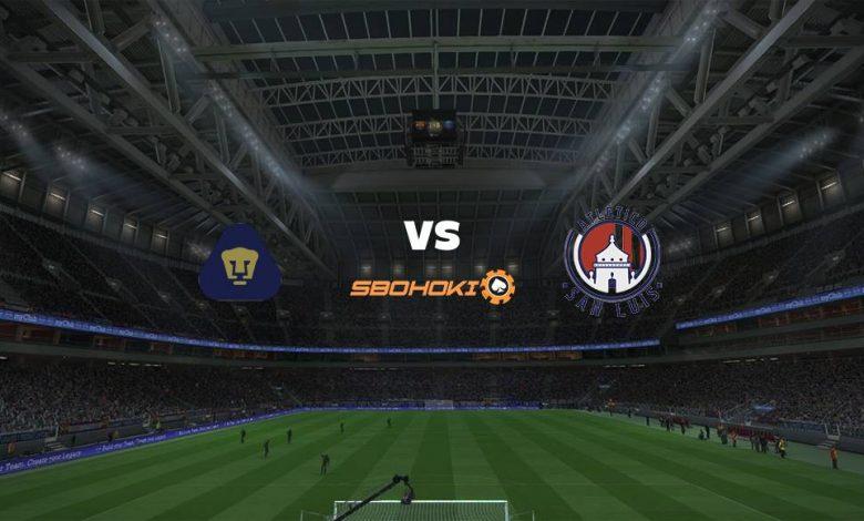 Live Streaming Pumas UNAM vs Atltico San Luis 8 Agustus 2021 1