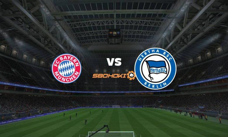 Live Streaming Bayern Munich vs Hertha Berlin 28 Agustus 2021 1