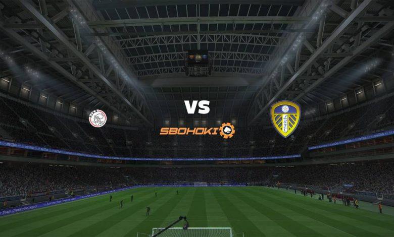 Live Streaming Ajax Amsterdam vs Leeds United 4 Agustus 2021 1