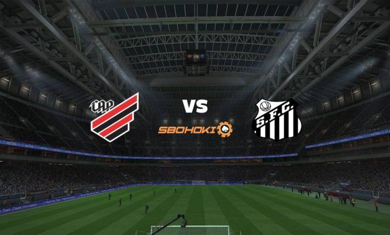 Live Streaming Athletico-PR vs Santos 25 Agustus 2021 1