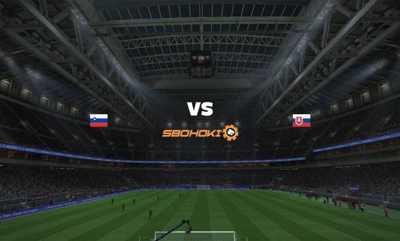Live Streaming Slovenia vs Slovakia 1 September 2021 1