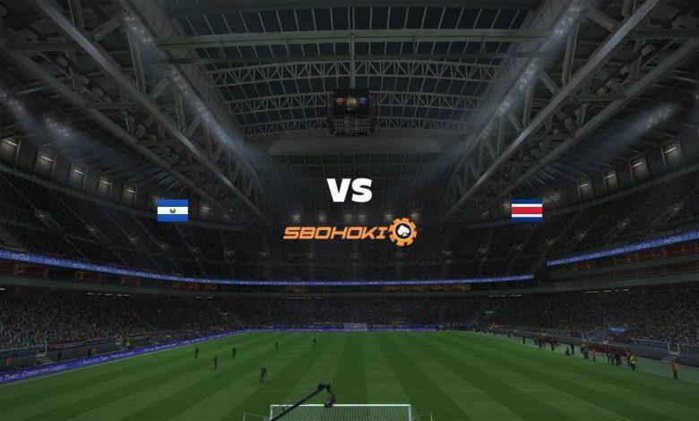Live Streaming El Salvador vs Costa Rica 22 Agustus 2021 1