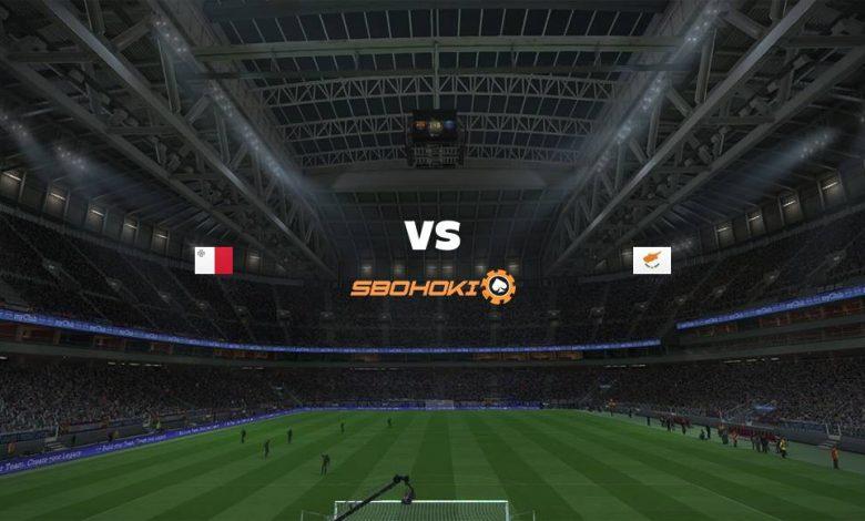 Live Streaming Malta vs Cyprus 1 September 2021 1