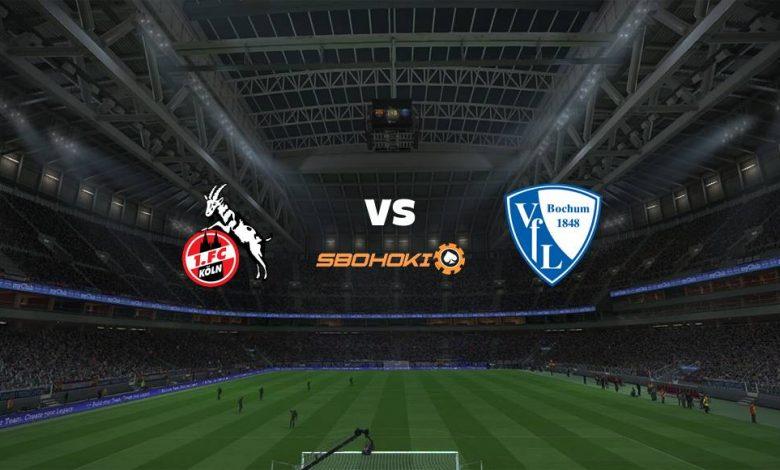 Live Streaming FC Cologne vs VfL Bochum 28 Agustus 2021 1