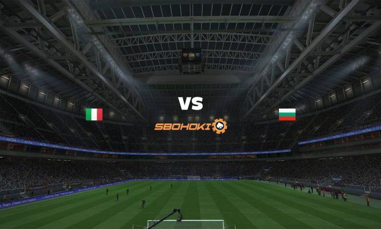 Live Streaming Italy vs Bulgaria 2 September 2021 1