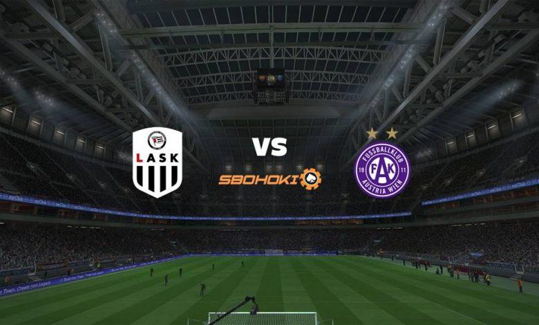 Live Streaming LASK Linz vs Austria Vienna 12 September 2021 1