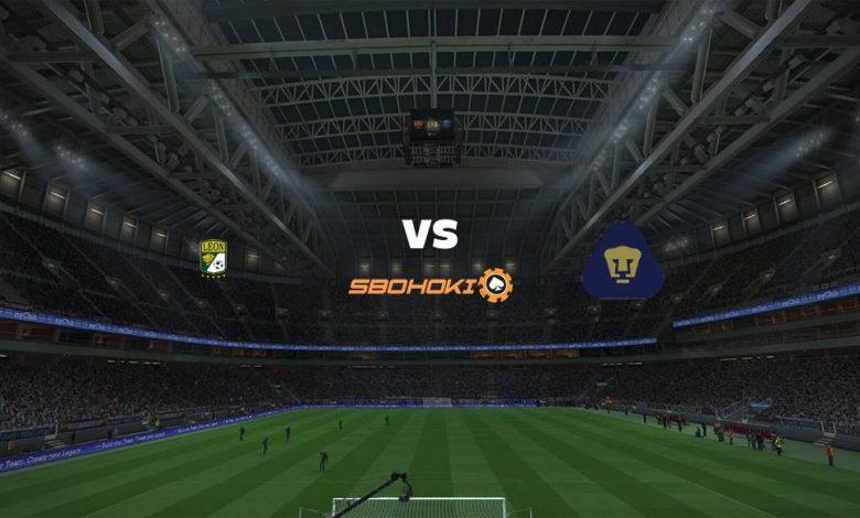 Live Streaming  León vs Pumas UNAM 16 September 2021 1