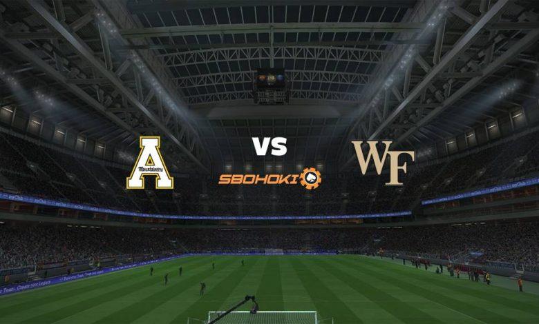 Live Streaming Appalachian State vs Wake Forest Demon Deacons 5 September 2021 1