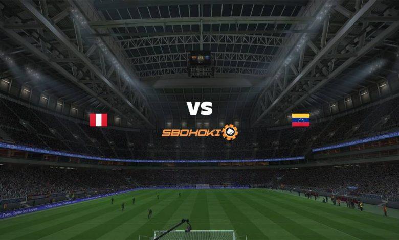 Live Streaming Peru vs Venezuela 6 September 2021 1