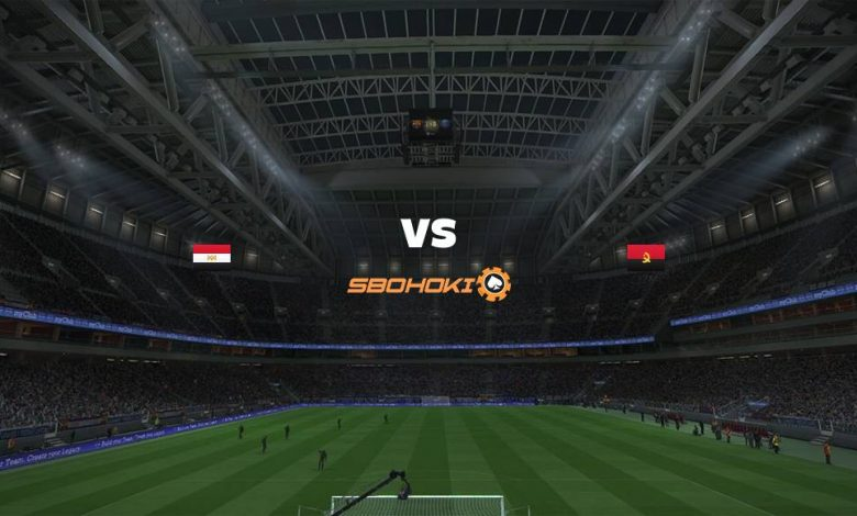 Live Streaming Egypt vs Angola 1 September 2021 1
