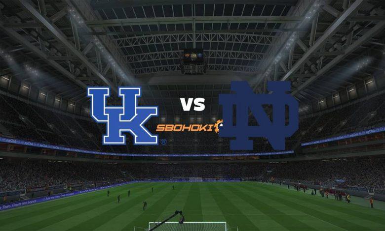 Live Streaming Kentucky vs Notre Dame 3 September 2021 1
