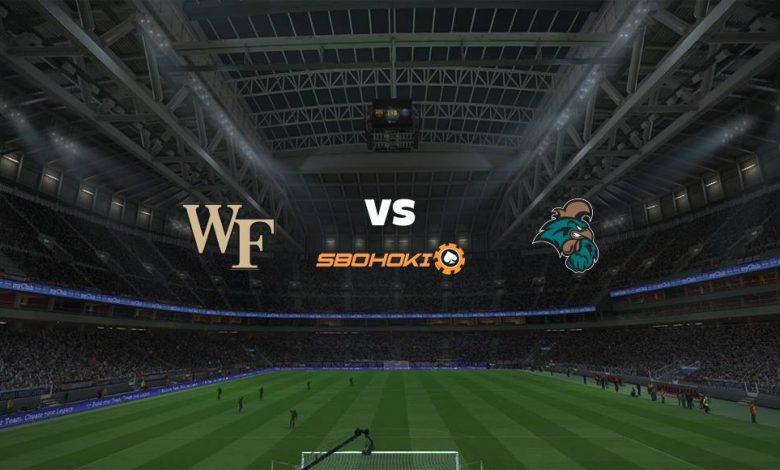 Live Streaming Wake Forest Demon Deacons vs Coastal Carolina 9 September 2021 1