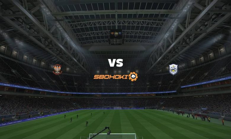 Live Streaming Blackpool vs Huddersfield Town 14 September 2021 1