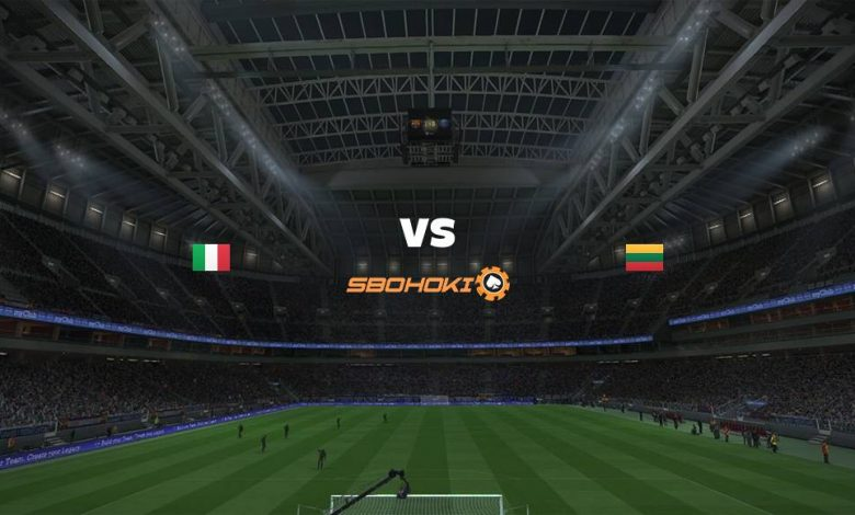 Live Streaming Italy vs Lithuania 8 September 2021 1