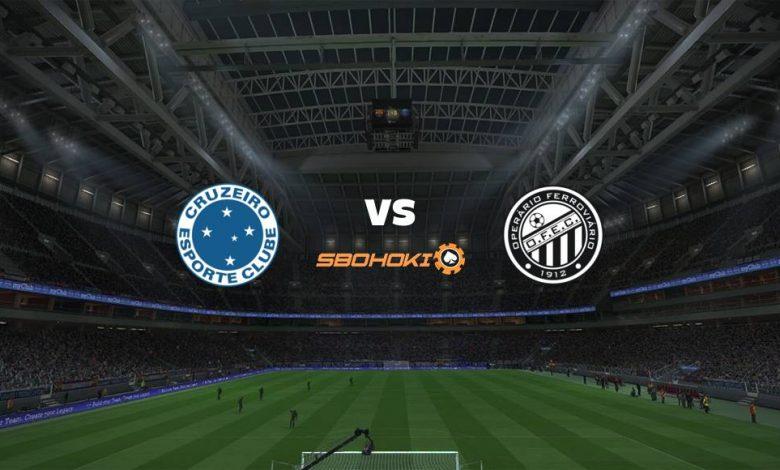 Live Streaming Cruzeiro vs Operario PR 16 September 2021 1