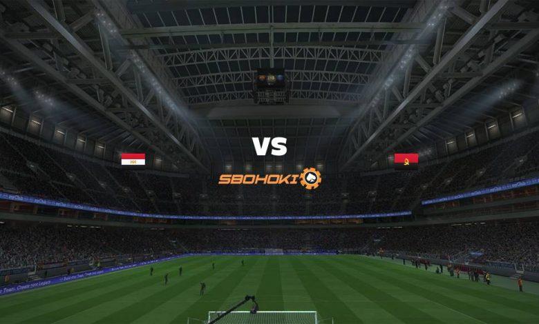 Live Streaming Egypt vs Angola 2 September 2021 1
