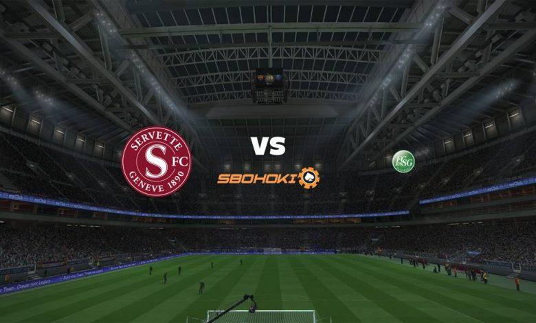 Live Streaming Servette vs St Gallen 12 September 2021 1