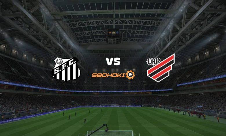 Live Streaming Santos vs Athletico-PR 15 September 2021 1
