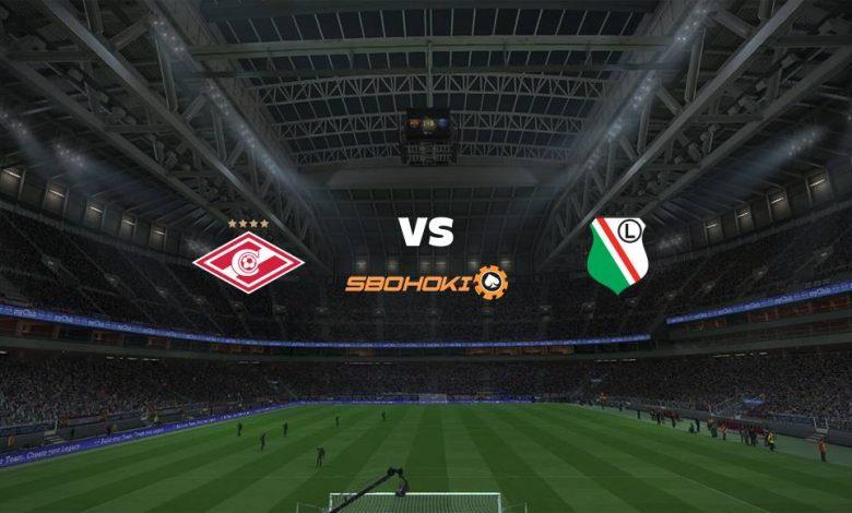 Live Streaming Spartak Moscow vs Legia Warsaw 15 September 2021 1
