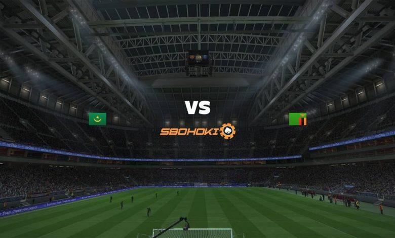 Live Streaming Mauritania vs Zambia 3 September 2021 1