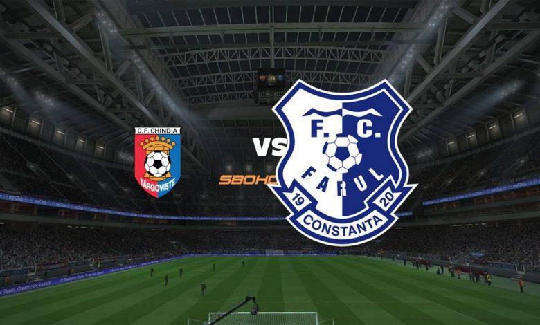 Live Streaming Chindia Targoviste vs FC Farul Constanta 18 September 2021 1