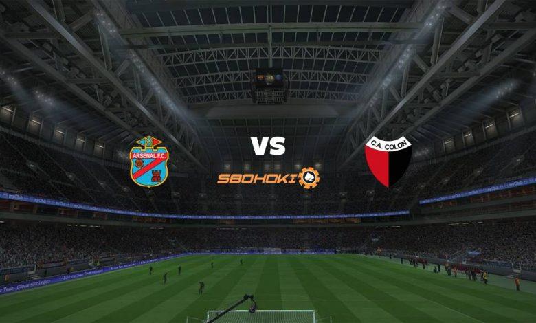 Live Streaming Arsenal de Sarand vs Coln (Santa Fe) 14 September 2021 1