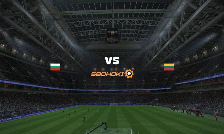 Live Streaming Bulgaria vs Lithuania 5 September 2021 1