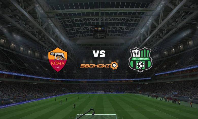 Live Streaming Roma vs Sassuolo 12 September 2021 1